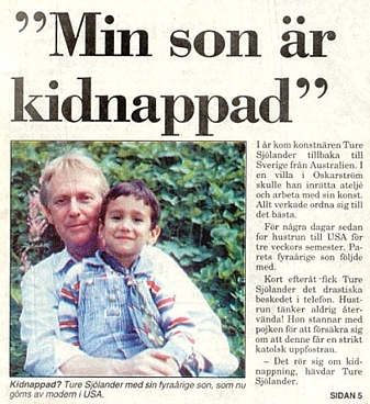 My Son is Kidnapped (Swedish)